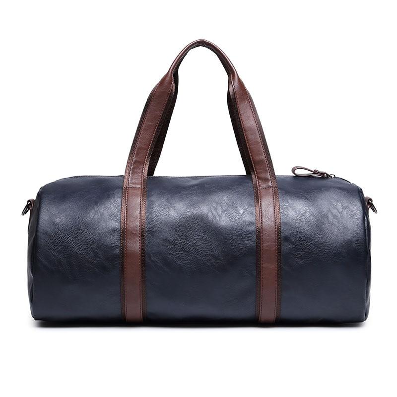 High Quality Small Business Men leather travel duffle bag sac de voyage Cossbody Men Bag bolsa de couro masculina 5008