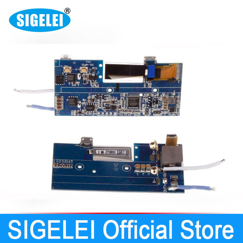 DIY PCB FÜR Vape Sigelei 213 Printed Circuit Board Für sigelei 213 e elektronische zigarette