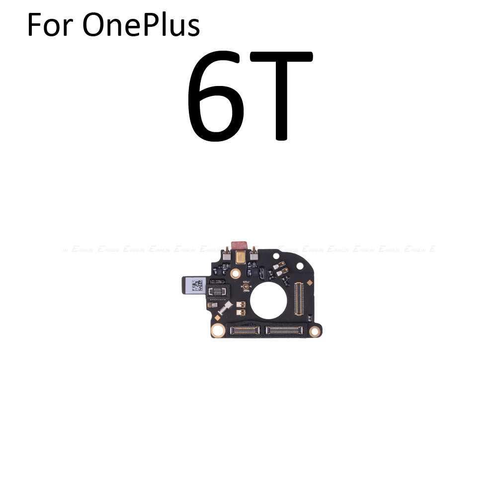 100% novo para oneplus 1 2 3 t 5 5 t 6 6 t microfone microfone vibrador módulo do motor de vibração placa luz cabo flexível