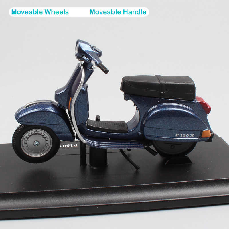 child's 1 18 scale brand small maisto Piaggio Vespa PX P 150 X 1978 motor  scooter motorcycle street bike diecast car toy models