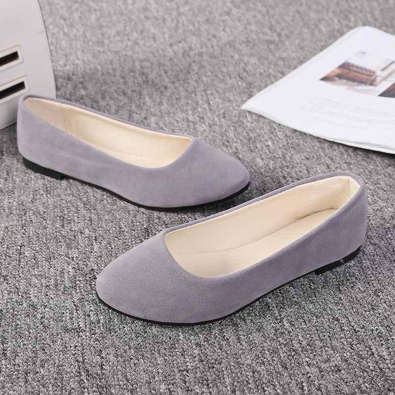 Cộng với Kích Thước 35-43 Phụ Nữ Giày Kẹo Màu Sắc Mùa Xuân Giày Phụ Nữ Trượt On Casual Phụ Nữ Dẹt Giày Nữ Mùa Thu Đôi Giày Lười zapatos de mujer