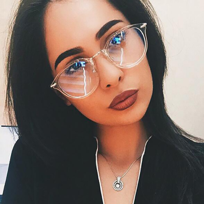 KOTTDO Retro-bril vrouwenbril Vintage Optical Reading bril Brilmontuur Heren Dames met doorzichtige lens Oculos Feminino