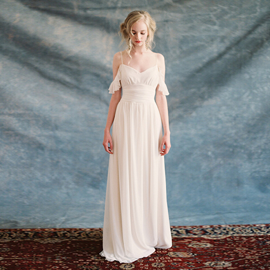 Bohemian A line Wedding Dress Short Sleeve Scoop Backless Vestido De ...