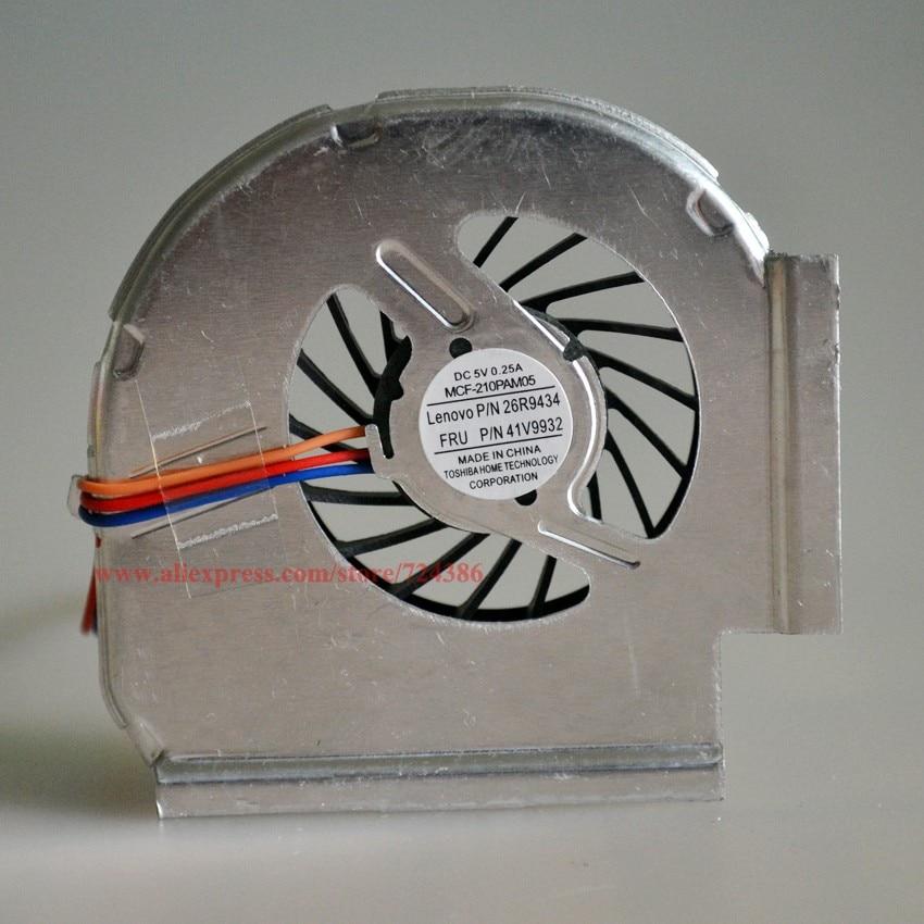 FEBNISCTE Laptop CPU Cooling Fan for Lenovo IBM Thinkpad R500 R61 R61I R61E 15.4