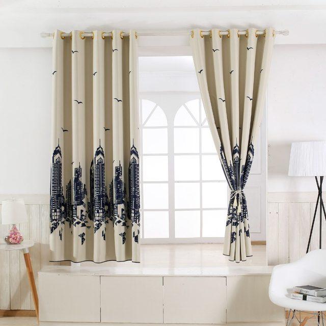 20 modèles de Moderne rideaux occultants complets épais court pour ...