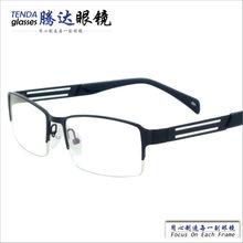 Металлические полуобода модные очки мужские очки по рецепту