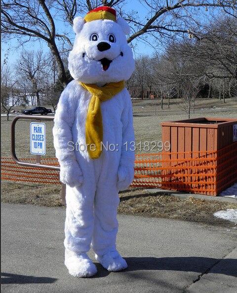 mascot Polar Bear mascot costume fancy dress custom fancy costume cosplay theme mascotte carnival costume