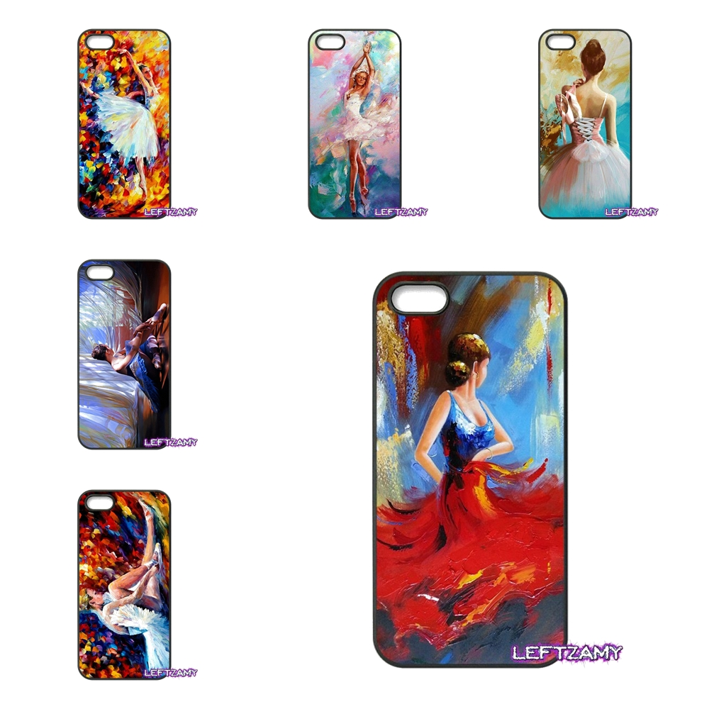 Ballerina Girl oil painting Hard Phone Case Cover For iPhone 4 4S 5 5C SE 6 6S 7 8 Plus X 4.7 5.5 iPod Touch 4 5 6