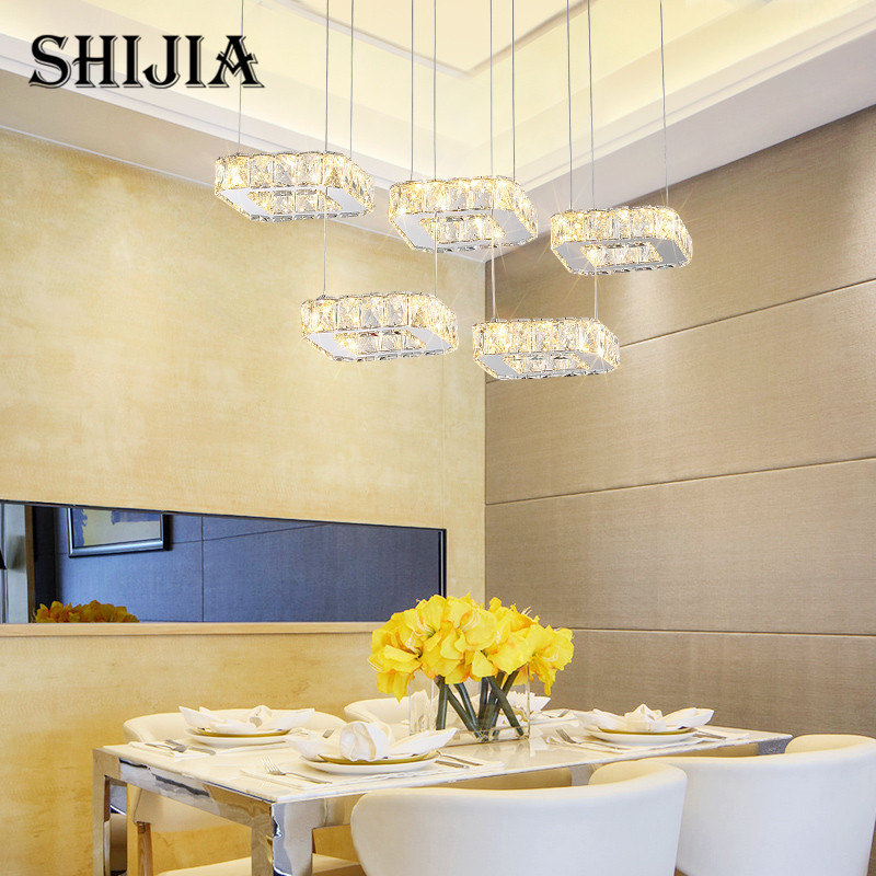 Creativit Large Led Crystal Chandelier Lighting for Duplex Staircase Ceiling Chandeliers Lamp for Bedroom Living Room Hotel lamp modern crystal chandelier hanging lighting birdcage chandeliers light for living room bedroom dining room restaurant decoration