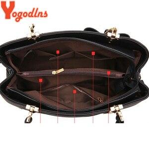 Image 4 - Yogodlns Bolso Vintage de piel para mujer, bandolera informal, a la moda, con asa superior, 2020