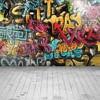 Laeacco Grunge Graffiti Brick Wall Photographic Scenery Photography Backgrounds Custom Photographic Backdrops For Photo Studio flash sale