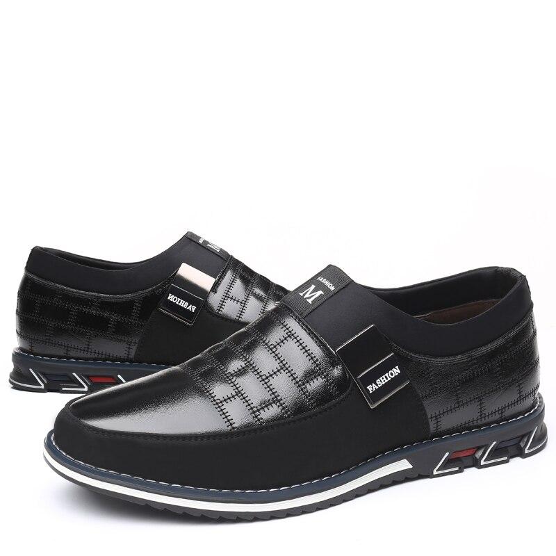 ZUNYU 2019 New Big Size 38 48 Oxfords Leather Men Shoes Fashion Casual Slip On Formal ZUNYU New Big Size 38-48 Oxfords Leather Men Shoes Fashion Casual Slip On Formal Business Wedding Dress Shoes