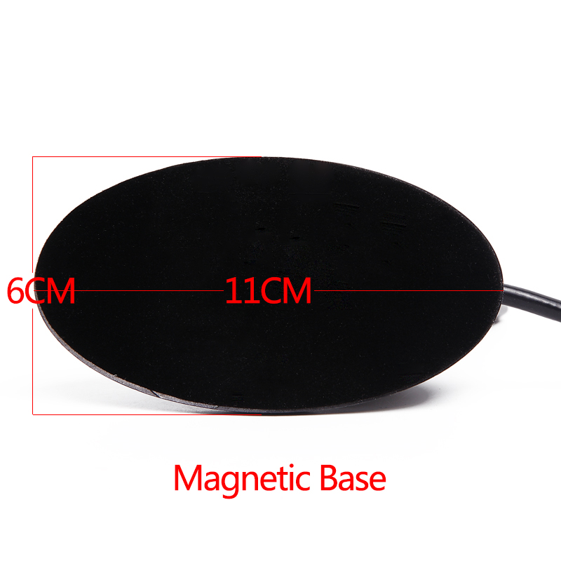 Image 3 - ABBREE Shark Fin SMA Female 144/430MHz VHF UHF Dual Band Antenna 