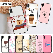 Lavaza Funny Ok But First Coffee Book Silicone Case for iPhone 5 5S 6 6S Plus 7 8 11 Pro X XS Max XR