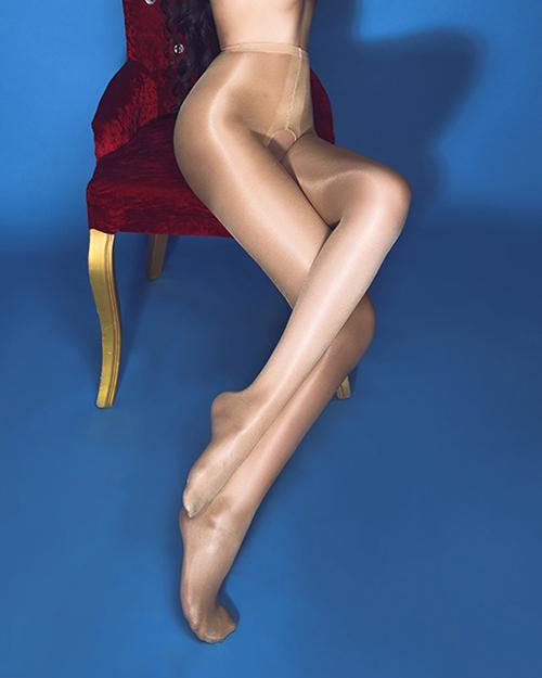 Nova 20D Abrir Crotch Calças Justas para As Mulheres De Cintura Alta Brilhantes Óleo brilhante Meia-calça Meias de Alta Qualidade Mais o Tamanho para 180 CM 80 KG