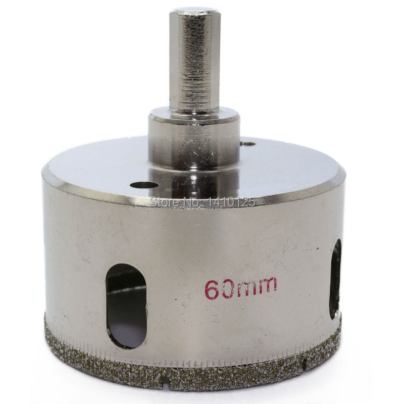 60 mm 2-3/8 inch Diamond Hole Saw Granite Drill Bit Coated Masonry Drilling Cutter Tools for Stone Marble Glass Ceramic Tile 60 mm 2 3 8 inch diamond hole saw granite drill bit coated masonry drilling cutter tools for stone marble glass ceramic tile