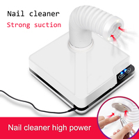 Nail Dust Collector Vacuum Nail Cleaner 60W 80W Suction Machine Manicure Tool Women Manicure Accessories