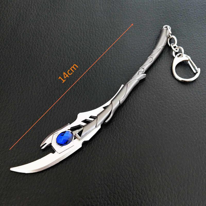 Украшения Marvel The Avengers 4 Evil Loki Scepter брелок оружие подвеска в виде топора брелок Тор молоток Брелки Подарки, держатель для ключей