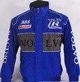 2 estilos Volvo cremallera chaqueta chaqueta insignia del coche F1 moto gp hombre conductor auto chaqueta outwear