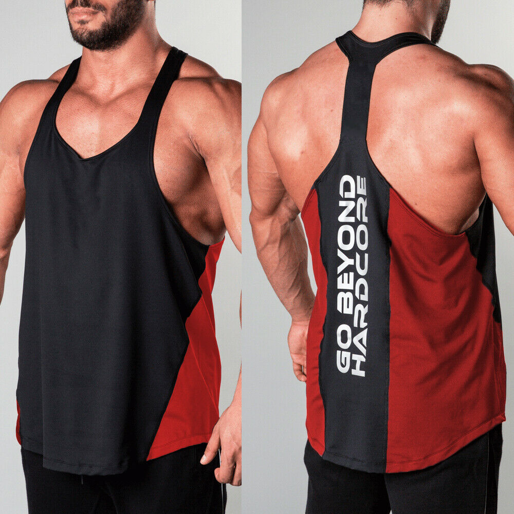 GASP Throwback Tank Top Bodybuilding Herren Muscle Shirt Fitness Sport