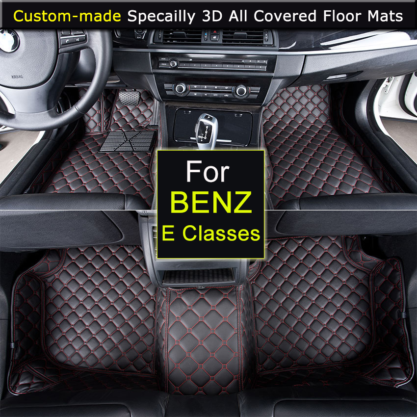 Specially for Mercedes E Classes E200 E260 E250 W211 W212 Car Floor Mats Car Styling Rugs Carpets 3D All covered Waterproof
