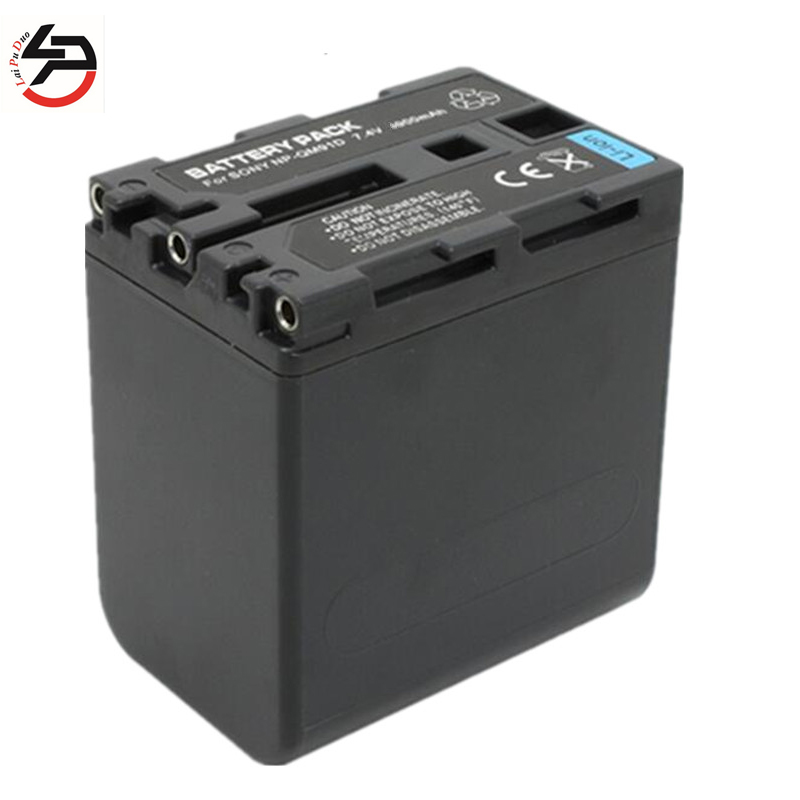 Laipuduo <font><b>7.4v</b></font> <font><b>2800mah</b></font> Replacement Camera <font><b>Battery</b></font> for Sony NP-FM30,FM50 NPFM50 NP-FM70,NP-FM90,NP-QM50,NP-QM51,NP-QM70,NP-QM71, image
