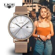 LIGE Women's Watches Top Luxury Brand 20