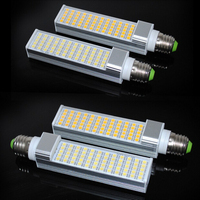 Wholesale price G24/E27 Dimmable 15W 60Leds Warm Cold White LED Bulb High Power Energy Saving LED Lamp 85~265V