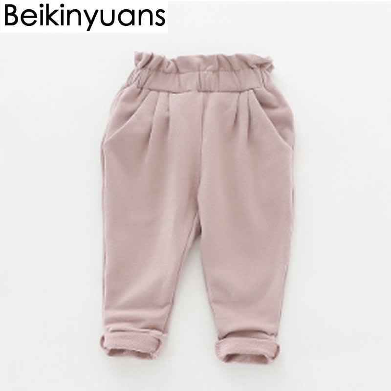 Infant Toddler Baby Cotton High Waist Pants Casual Animal Casual Leggings Trouser 0-36 Months
