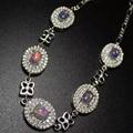 Luxuoso pulseira para a mulher de prata opala natural policromada Australiano opal jóias pure 925 prata moda pulseira de pedras preciosas