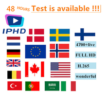 French IPHD iptv subscription+4700 Channels for Europe Arabic France Belgium IPTV m3u for