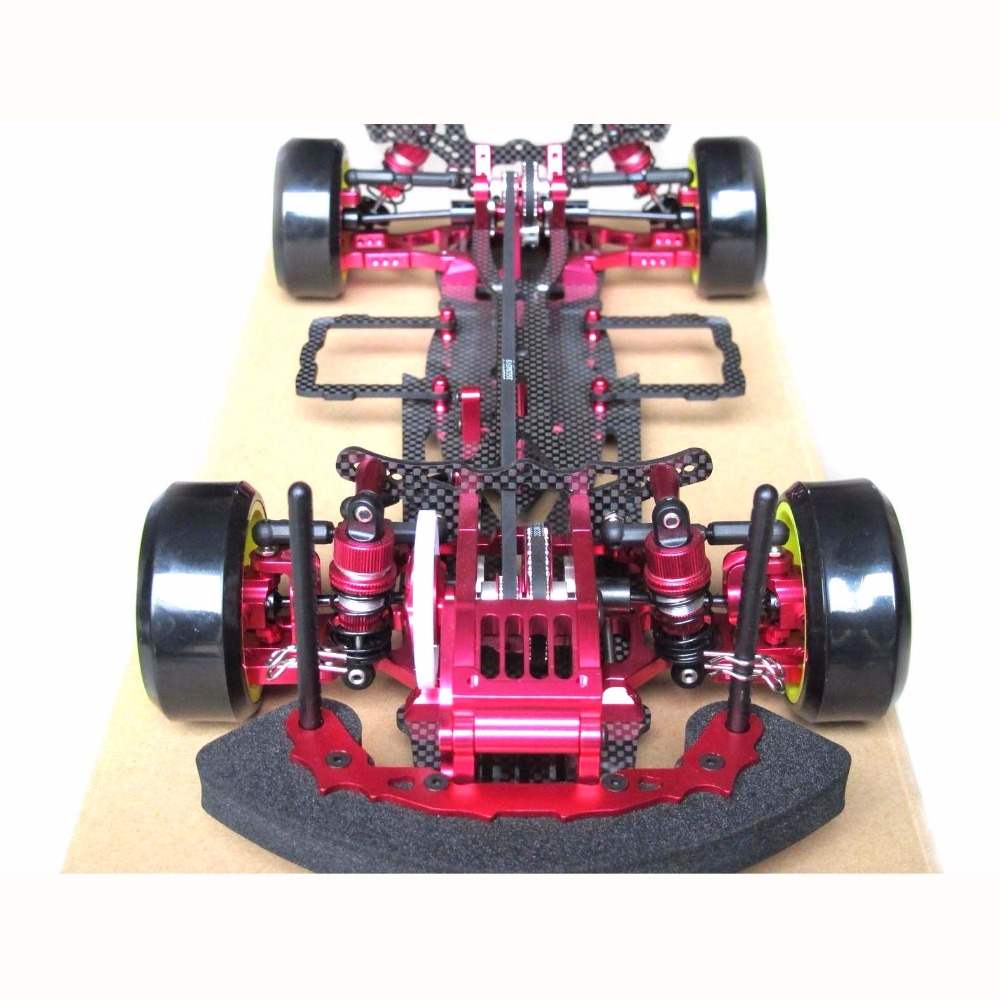 Hobbypower OEM Alliage & Carbone SAKURA D3 CS 3R OP RC 1/10 4WD Drift Racing Kit De Châssis De Voiture 1:10