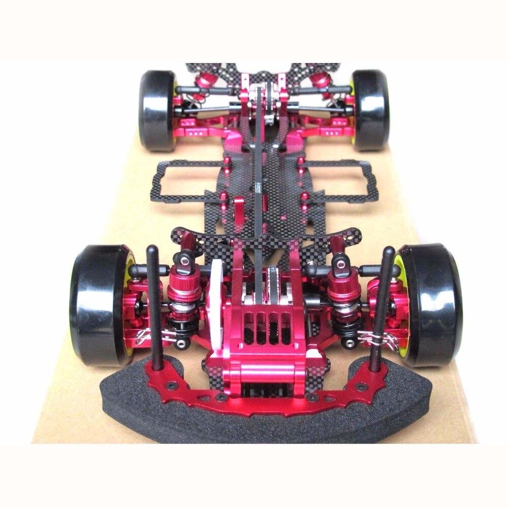 Hobbypower OEM Alloy & Carbon SAKURA D3 CS 3R OP RC 1/10 4WD Drift Racing Car Kit Telaio 1:10
