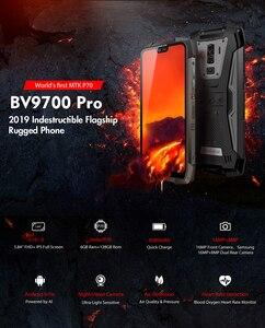 """Image 2 - Blackview BV9700 プロ IP68/IP69K 頑丈な携帯エリオ P70 オクタコア 6 ギガバイトの RAM 128 ギガバイト ROM 5.84"""" ips の Android 9.0 4 グラム顔 Id"""