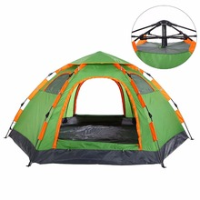 Wnnideo Automatic Instant Pop Up Tent Outdoor 3-4 Person Family Tent