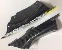 Hot Sales,2 x Carbon Fiber Motorcycle Upper Front Dash Air Cover Fairing Cowl For Honda CBR1000RR 2012 2013 2014 2015 2016