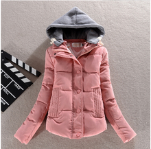 Latest Winter Fashion Women Coat Long sleeve Hooded Thickening Warm Cotton Down jacket Elegant Slim Ladies Dig yards Coat G1934
