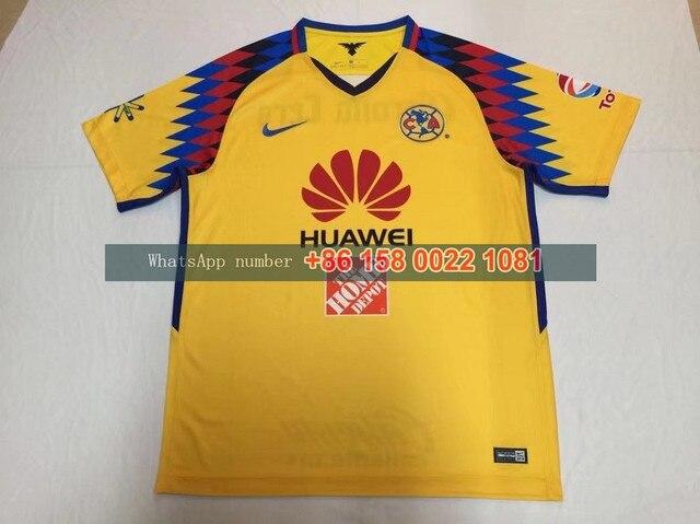 848836159 2017 2018 MEXICO Club America 17 18 Mexico Culb LIGA MX Club 3rd yellow  color futbol