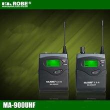 EAROBE MA-900 DSLR Caméra Sans Fil pour Enregistrement En Extérieur, entrevue, vidéo Tir, DV Portable Sans Fil Microphone