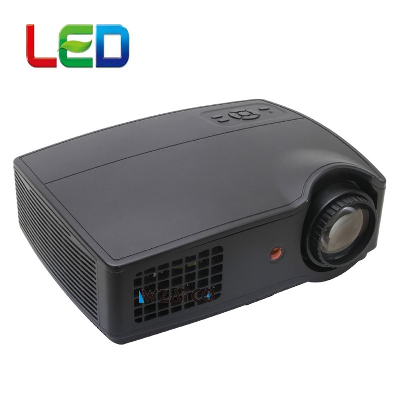 WZATCO CT228 LED HD Projector 4500 Lumens Beamer 1280 800 LCD Projector Full HD Video Home