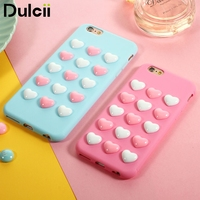 For Apple IPhone 6s 7p Bag Lovely Kawaii Cute Phone Case For IPhone 7 Plus 3D