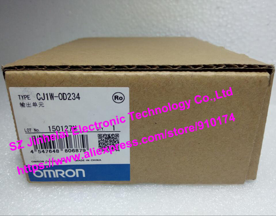 New and original CJ1W-OD234 CJ1W-0D234 OMRON PLC OUTPUT UNIT cj1w mad42 omron analog input output unit
