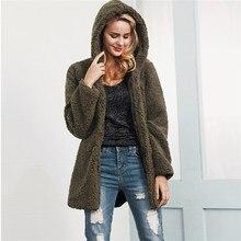 plus size maxi winter hooded down parkas faux lamp fur jacket women warm coat