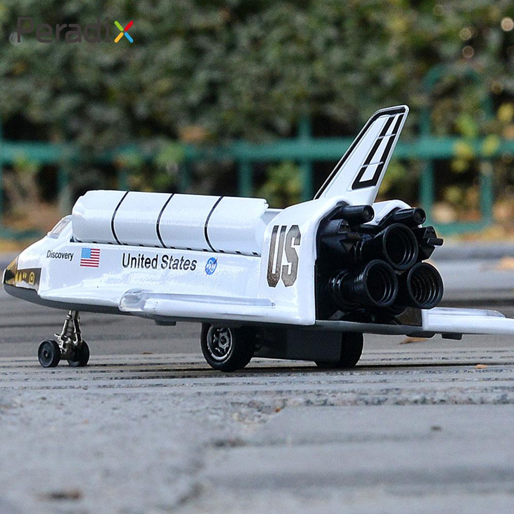 Space Shuttle Model Beautiful Spaceship Model Decor Entertainment White Educational Model Spacecraft Model