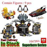Lepin Super Heroes Marvel Avengers Minifigures Cartoon Figures Deadshot Harley Quinn Batman Building Blocks Model Toys