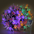 5M Solar LED String Lights Waterproof Fairy Lights LED Light Outdoor Garden Lighting For Christmas Festival Party Decoration