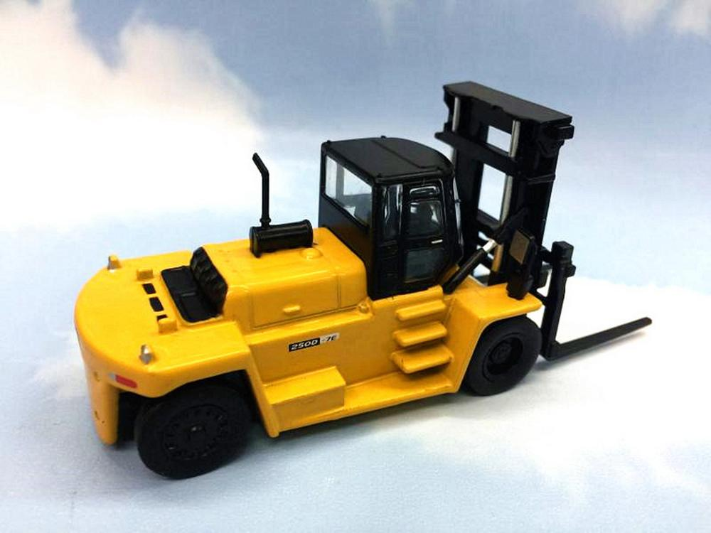 Maquinaria Para Construccion 1//87 HO HYUNDAI 250D-7E Forklift Diecast Model