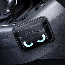 1 Piece Car Seamless Paste Type Door/Seat Back/Seat Crevice/Dashboard Storage Bag Multi-function