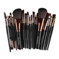 22 Pcs New Pro Makeup Brush Set Powder Foundation Eyeshadow Eyeliner Lip Cosmetic Brush Kit Beauty