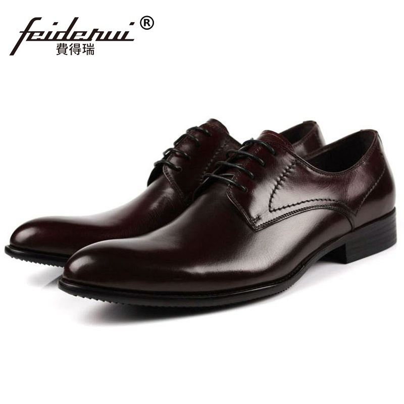 New Formal Man Elegant Dress Office Shoes Genuine Leather Designer Oxfords Luxury Brand Round Toe Mens Handmade Footwear FG91New Formal Man Elegant Dress Office Shoes Genuine Leather Designer Oxfords Luxury Brand Round Toe Mens Handmade Footwear FG91